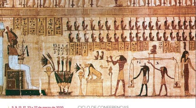 Dos profesores de la Universidad de Murcia organizan el ciclo de conferencias 'Dioses, tumbas y papiros'