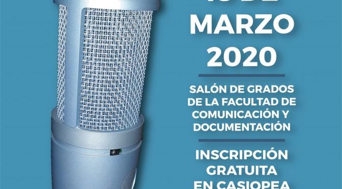 La Universidad de Murcia celebrará sus 'I Jornadas de Podcasting'