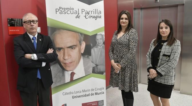 La cirujana y profesora de la UMU Beatriz Febrero gana el Premio Pascual Parrilla de Cirugía que concede la Cátedra Lorca Marín