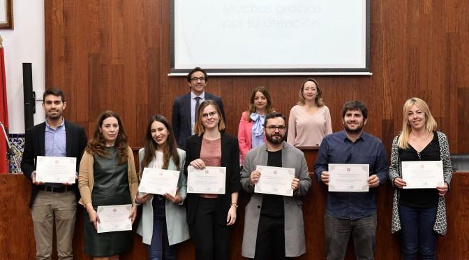La Universidad de Murcia entrega los premios de la Cátedra del Agua a los mejores trabajos fin de máster