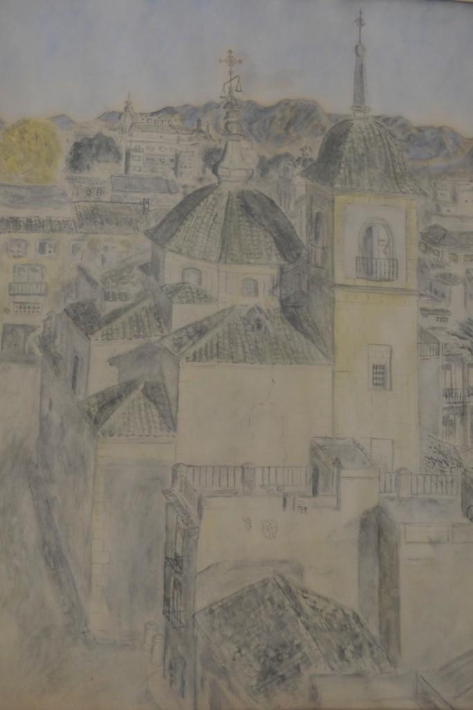 Dibujo casa de los 9 pisos Marga