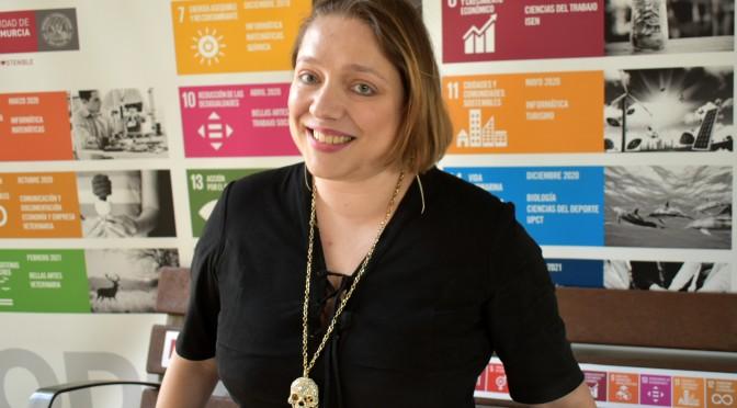 Natalia díaz, consejera de la oficina de la OIT en España