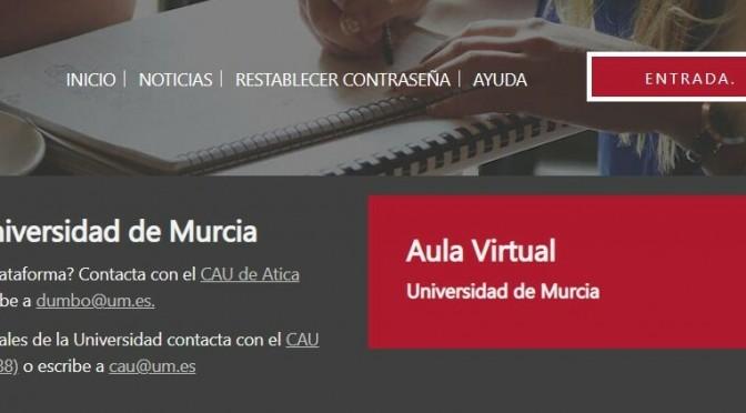 La Universidad de Murcia registra 3.560 clases por videoconferencia los siete primeros días lectivos del confinamiento