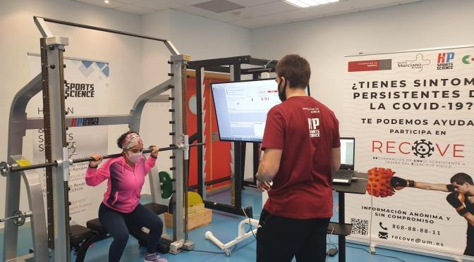 La UMU inicia una investigación sobre la influencia del deporte en la mejora de las secuelas de la covid