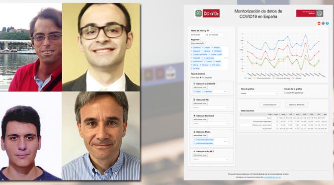 Investigadores de la UMU lanzan COnVIDa, una plataforma que recopila todos los datos de la COVID-19