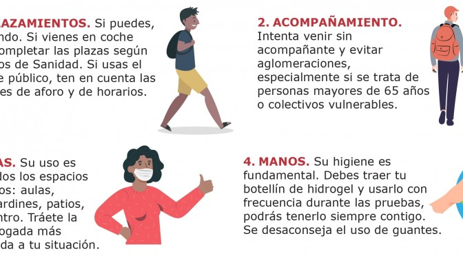 Las pruebas de acceso para mayores de 25 y 45 años se celebran los días 3,4 y 5 de junio en la Universidad de Murcia