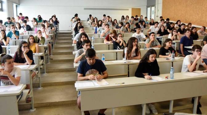 La Universidad de Murcia recibe 7.892 inscripciones en la Evaluación del Bachillerato para el Acceso a la Universidad