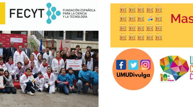 Un proyecto de la UMU resulta el mejor valorado por el Ministerio de Ciencia e Innovación entre todas las universidades españolas para fomentar la educación y las vocaciones científicas