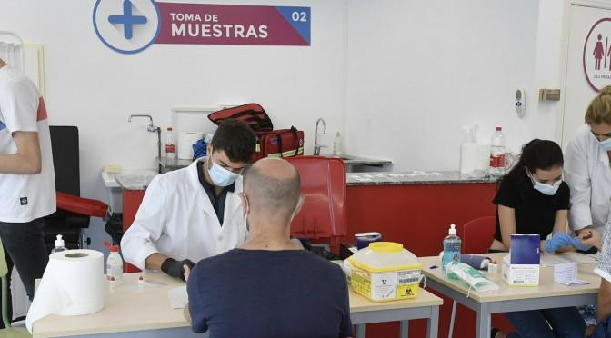 La Universidad de Murcia comienza a realizar los test rápidos para el diagnóstico de la COVID-19 a su personal