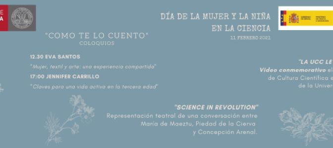 """""""Como te lo cuento"""", un proyecto de la UMU para celebrar el Día Internacional de la Mujer y la Niña en la Ciencia"""