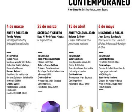 Arranca el ciclo de seminarios 'Arte y pensamiento contemporáneos' que coorganiza la Facultad de Bellas Artes de la UMU