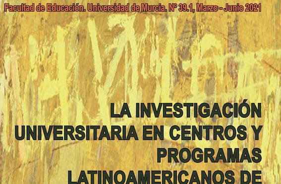 La UMU publica un nuevo número de la revista Educatio Siglo XXI que difunde avances sobre la investigación universitaria en centros latinoamericanos de escritura académica