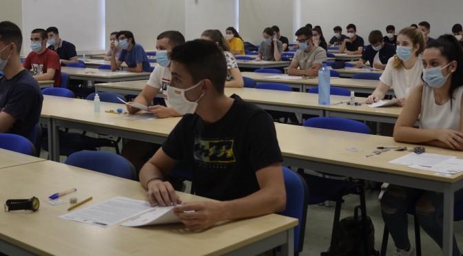 7.263 estudiantes de la Región de Murcia se inscriben en la fase general de la EBAU