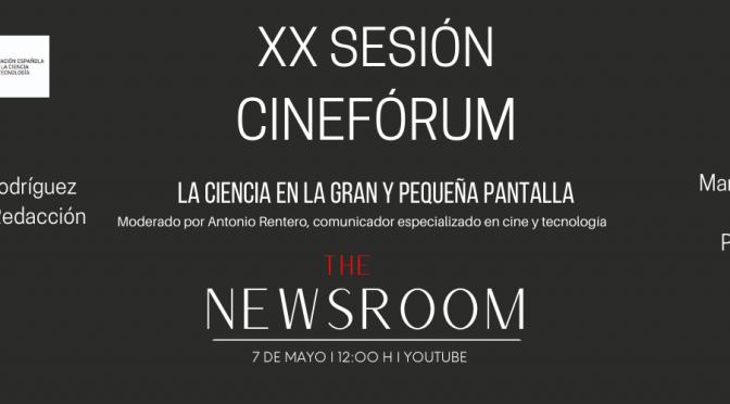 """La nueva sesión del cinefórum """"la ciencia en la gran y pequeña pantalla"""" de la UMU se adentra en el periodismo"""