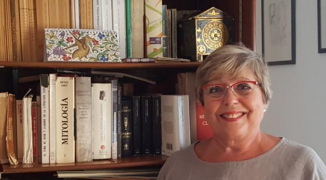 """La última """"lectio"""" de Consuelo Álvarez Morán, catedrática jubilada de Filología Latina de la Universidad de Murcia"""