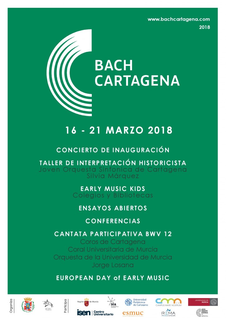 Cartel Bach Cartagena 2018-001