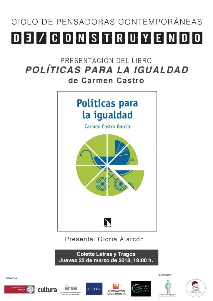 cartel A3 politicas igualdad