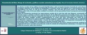 Invitación presentación libro Madrid