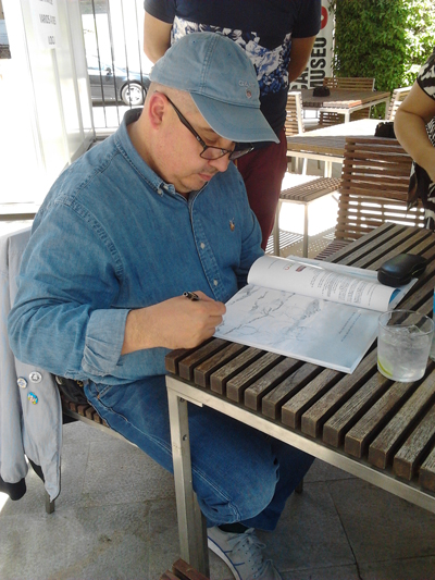 Eduardo Batán-Firmas de autores