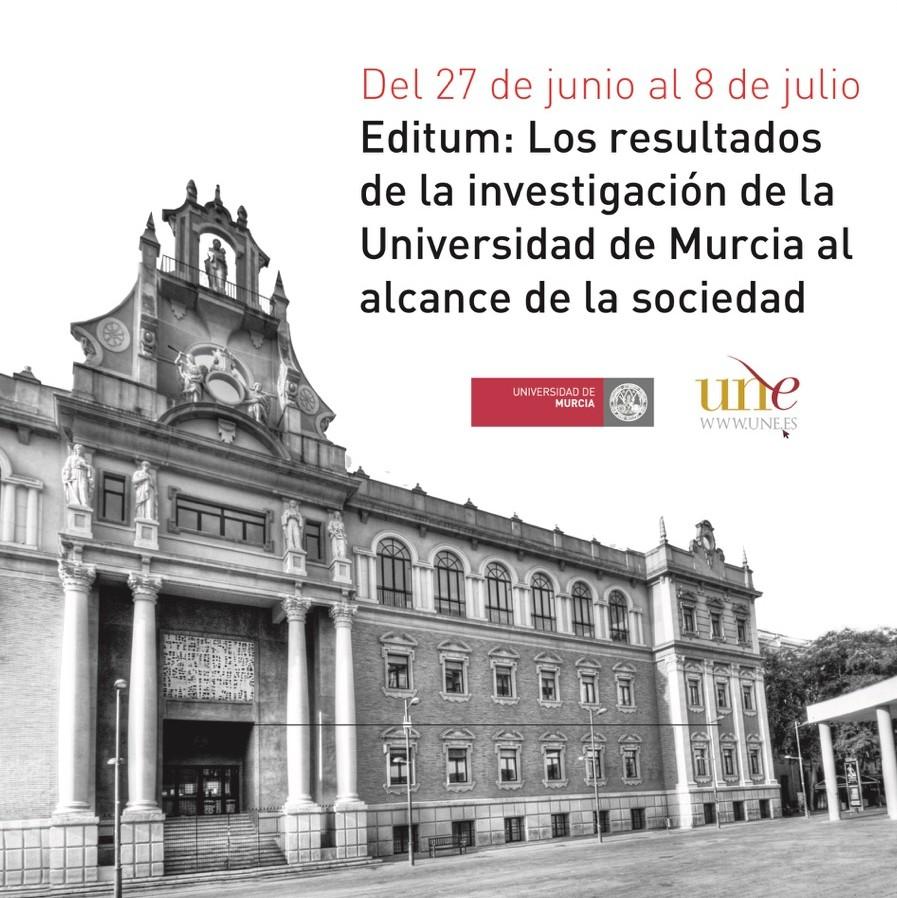 Editum: Los resultados de la investigación de la Universidad de Murcia al alcance de la sociedad