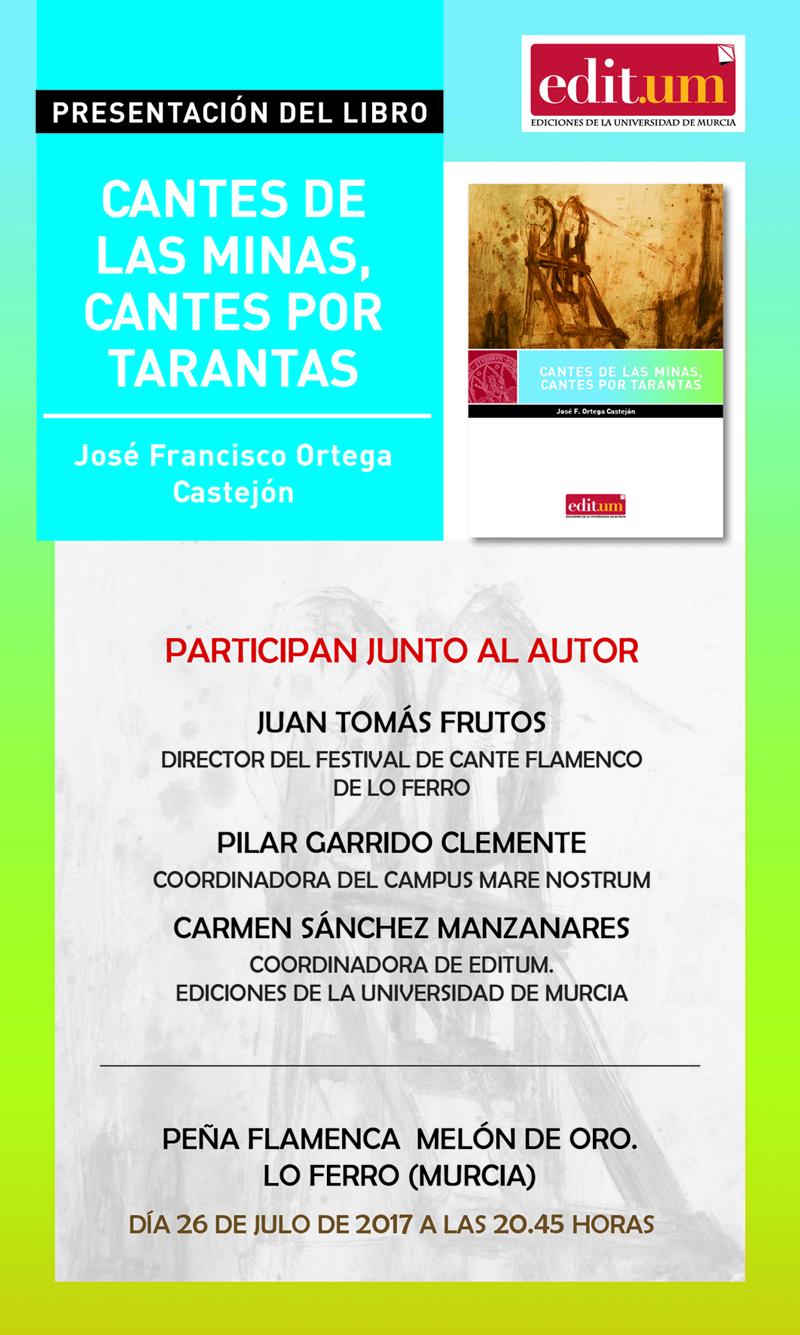PRESENTACIÓN CANTE DE LAS MINAS