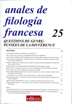 Anales Filología Francesa25